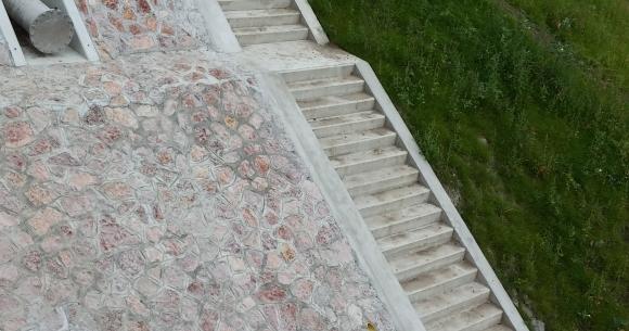 Győr, Iparcsatorna Árvízvédelmi kapu lépcsői (EDU-2) projekt (Győr, 2014)